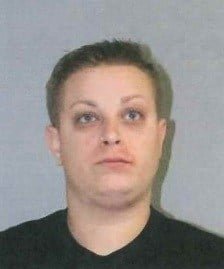 Stephanie Credit who was arrested for DUI after hitting a State Police cruiser.  (Conn. State Police)
