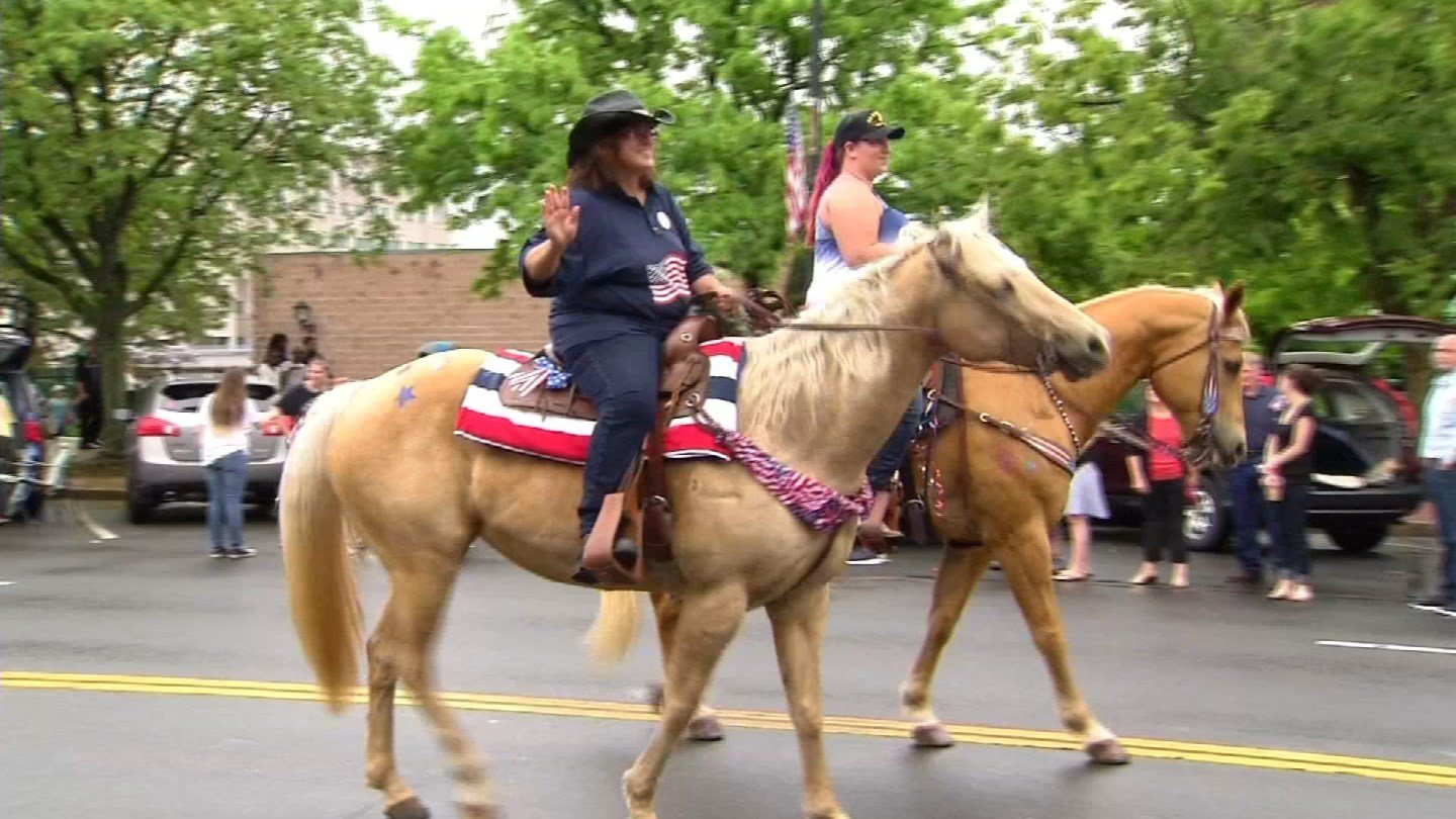 This was taken from a previous Memorial Day parade in Middletown. (WFSB file photo)