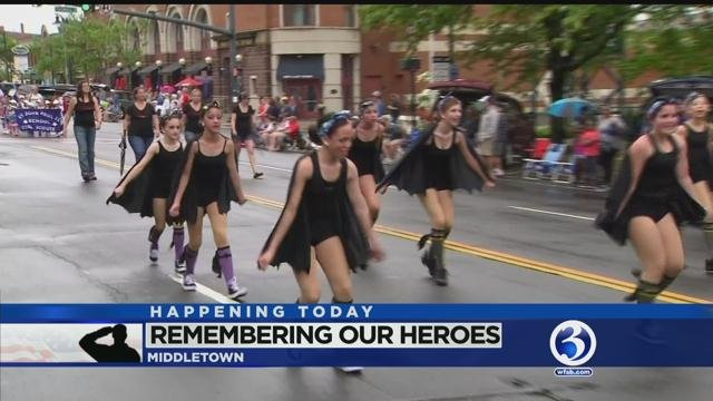 Middletown Memorial Day parade vows to go ahead despite rain