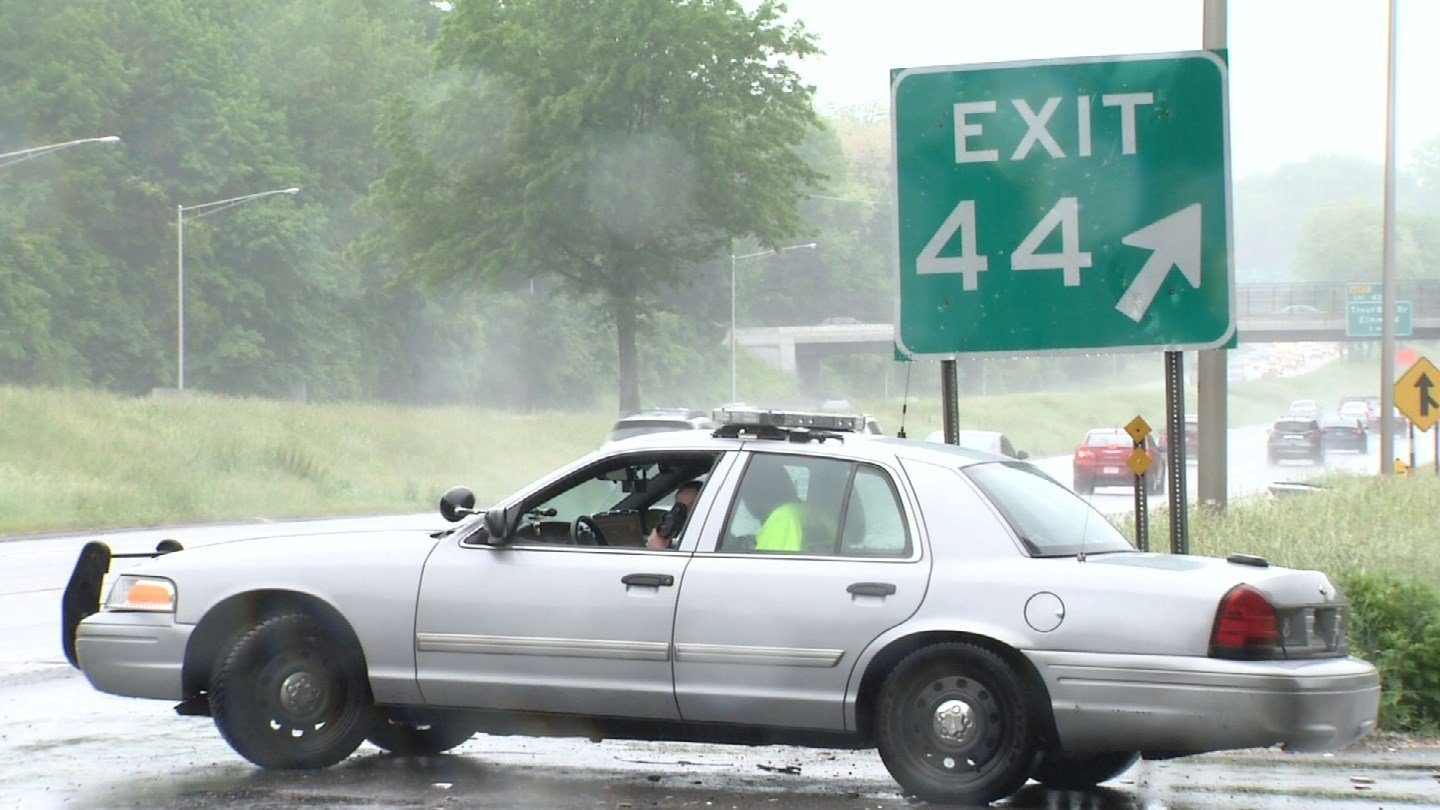 State police were out monitoring driving conditions over the Memorial Day weekend. (WFSB)