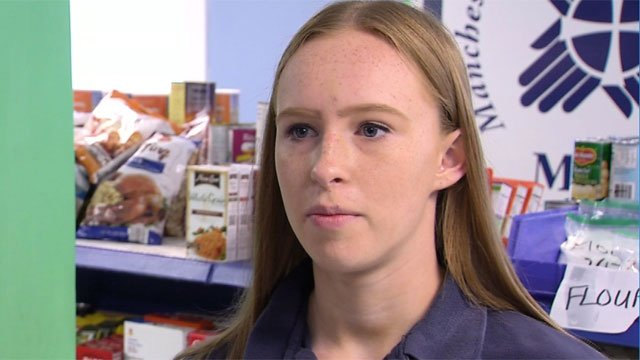 Sara Hohenthal has for donations instead of gifts for her birthday. (WFSB)