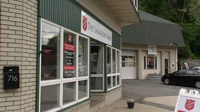A bomb threat was sent into a Salvation Army on Tuesday morning (WFSB)