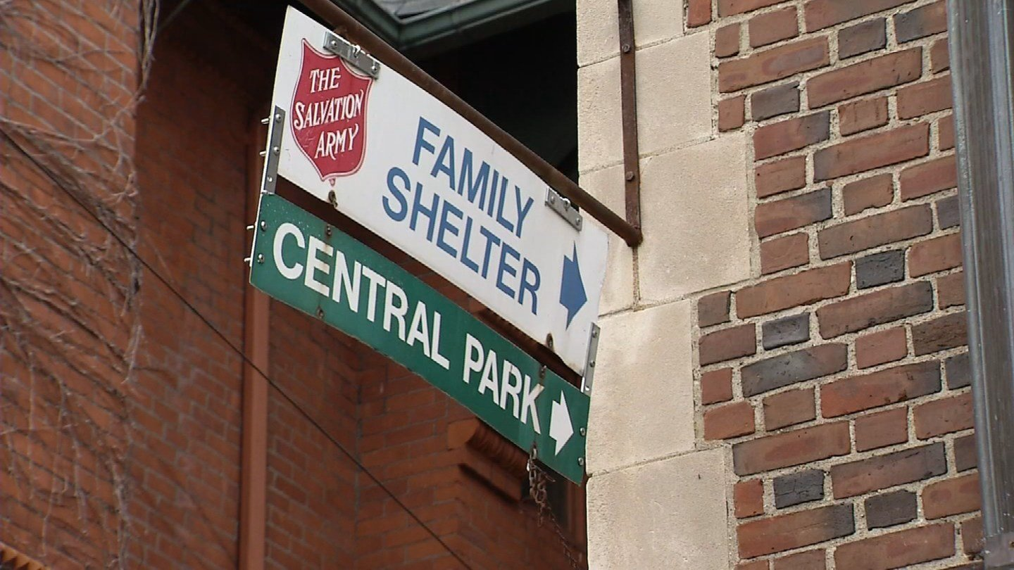 The Salvation Army Shelter in Waterbury is undergoing a major facelift. (WFSB)