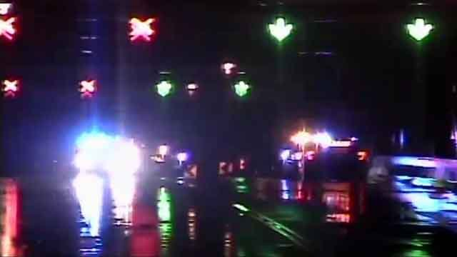 Police activity closed the Arrigoni Bridge on Wednesday night (CT DOT)