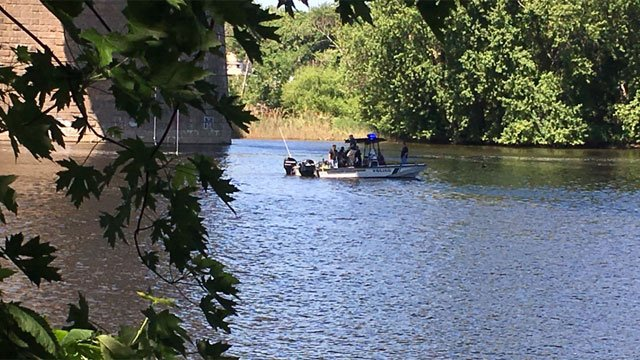Authorities were continuing the search in Middletown on Thursday. (WFSB)