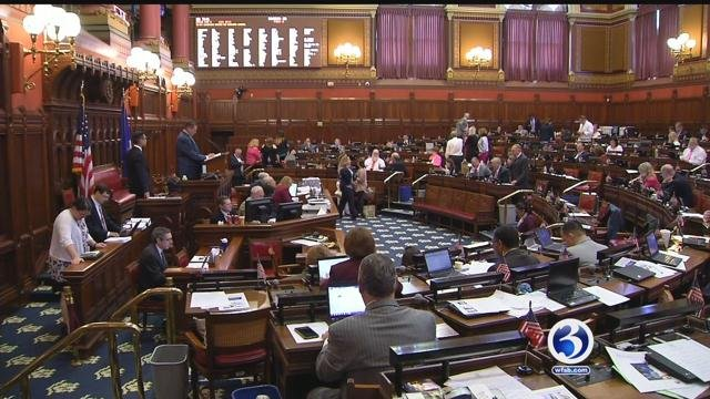 Tension continues to mount amount state lawmakers over budget. (WFSB)