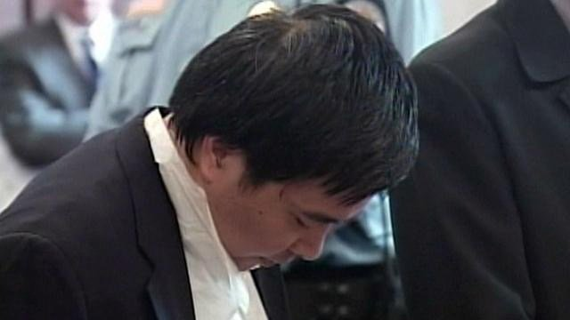Lishan Wang during a previous court appearance. (WFSB file photo)