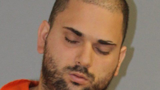 Andrew Racine is accused of raping a woman in Brooklyn, CT because 'voices' told him to do it. (State police)