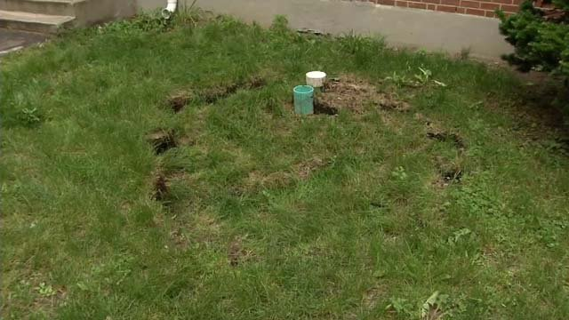 That sinkhole, tenants say, is just the tip of the iceberg. (WFSB)