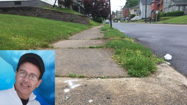 Luis Delgado was struck by a vehicle on Jubilee Street  on June 4. (Family/WFSB photos)