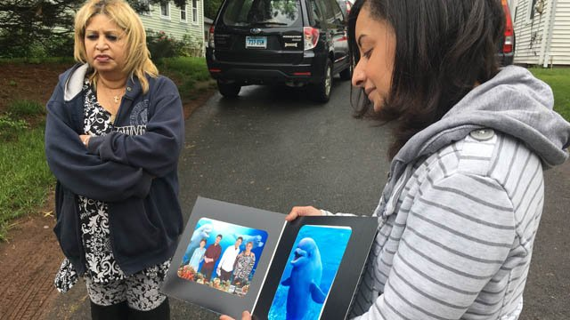 Luis Delgado's family is hoping the public can help track down the driver who struck him. (WFSB)