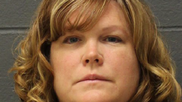 Courtney Wells is accused of embezzling thousands of dollars from a lacrosse organization and her employer. (Southington police photo)