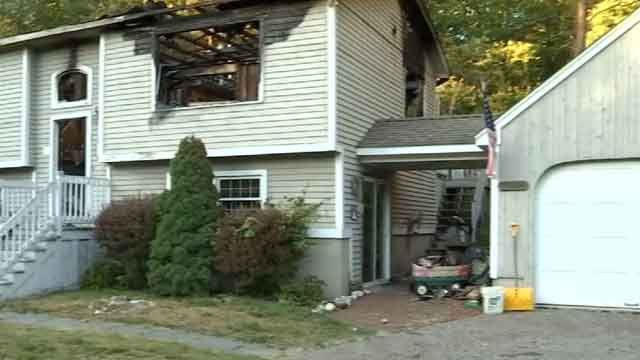 A family is trying to pick up the pieces after a devastating fire over the weekend (WFSB)
