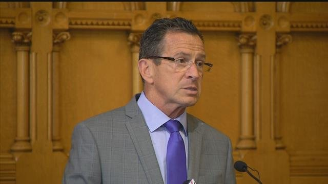 Gov. Dannel Malloy said that while there was no budget yet, but he's hopeful. (WFSB)