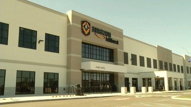 Amazon fulfillment center (WFSB file photo)