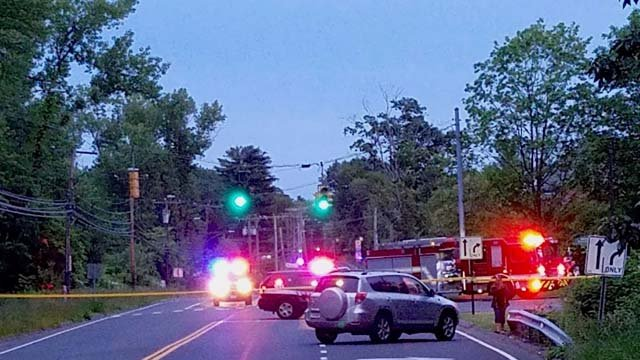 A person was killed in a crash in West Hartford Thursday evening. (iwitness)