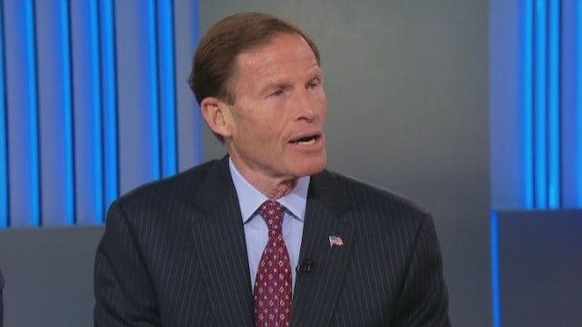 Sen. Richard Blumenthal. (CNN photo)