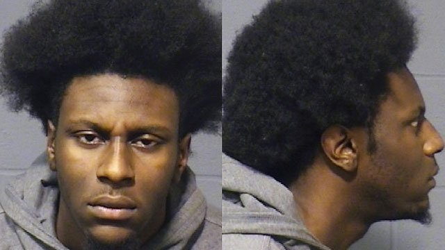 Raekwon Gaines was arrested in connection with a robbery that began under the guise of an iPhone sale off the website Offer Up. (Hartford police)