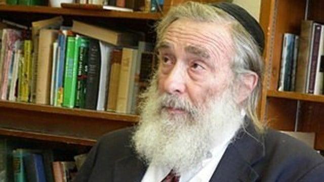 Rabbi Daniel Greer. (New Haven Independent photo)