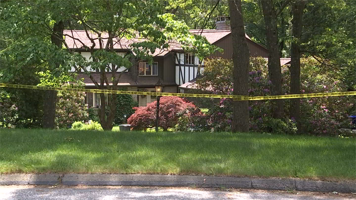 State and local police were on scene of a home in Glastonbury investigating a death. (WFSB)