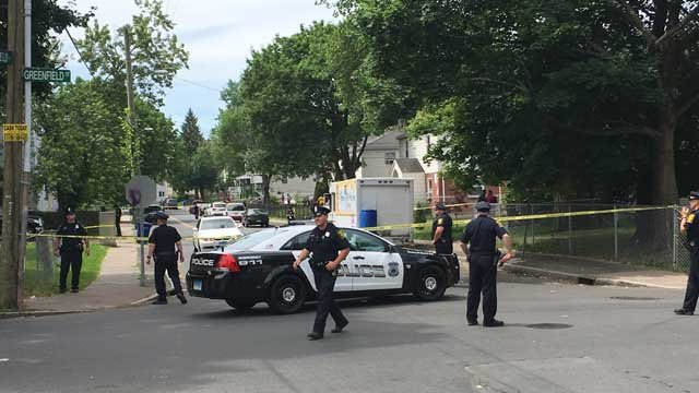 Hartford police are investigating a Sunday morning homicide. (WFSB)