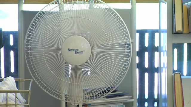 Simsbury has opened up cooling centers ahead of an expected heat wave (WFSB file photo)