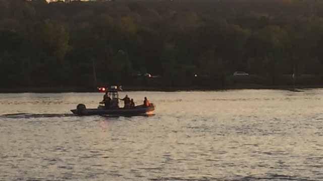 Crews  are searching the CT River for a 17-year-old who was swept from shore (WFSB)