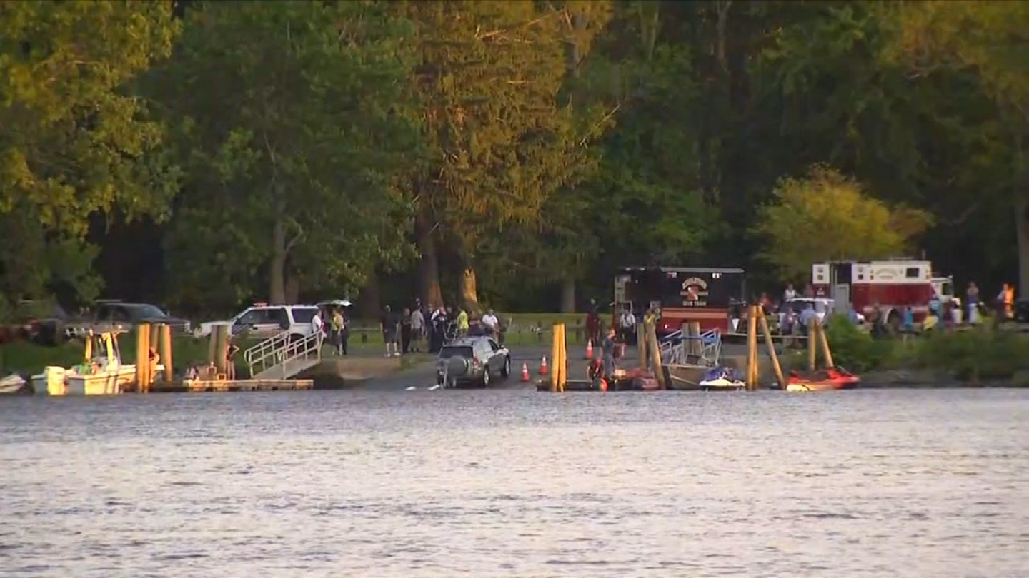 Crews began searching for a 17-year-old boy after he jumped into the Connecticut River in Haddam on Sunday night. (WFSB)