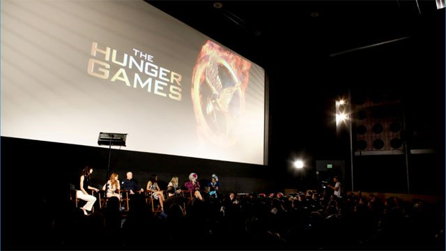 "A general view of atmosphere seen at ""The Hunger Games"" Fan Marathon at The Egyptian Theatre on Sunday, March 20, 2016, in Los Angeles, CA. (Photo by Eric Charbonneau/Invision for Lionsgate Home Entertainment/AP Images)"
