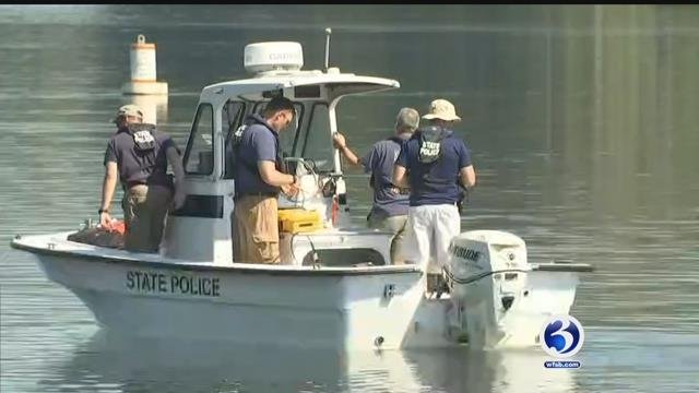 State and EnCon police resumed their search on the Connecticut River in Haddam for a 17-year-old boy.
