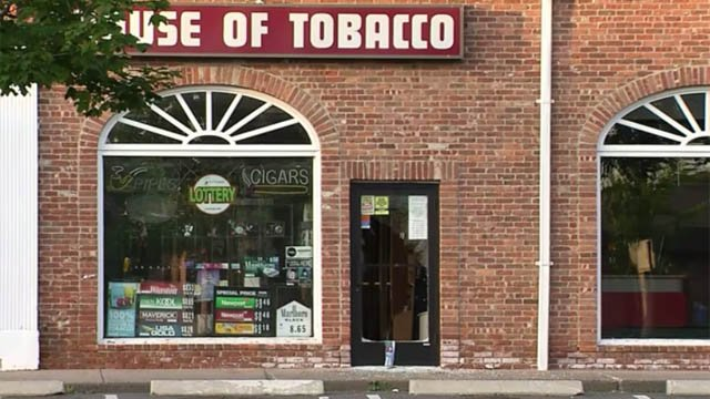 Investigators are looking into a smash and grab at the House of Tobacco in West Hartford. (WFSB)