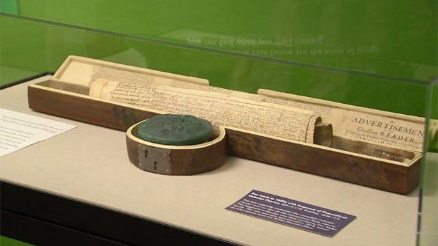 A new exhibit explains why Connecticut is the constitution state. (WFSB)
