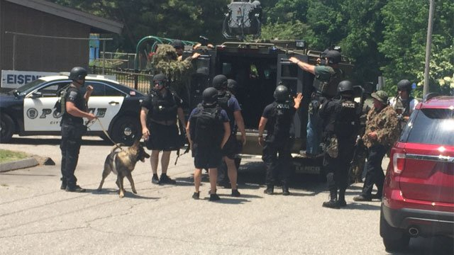 The SWAT tactical unit was deployed to the park. (WFSB)