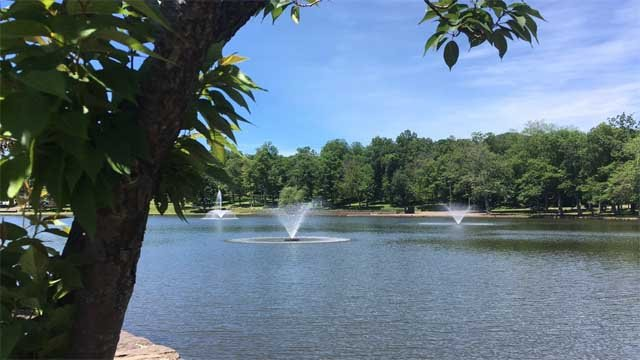It doesn't appear the fireworks at Meriden's Hubbard Park will go on this year (WFSB)