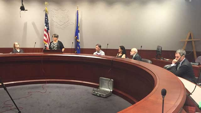 Advocates for disabled residents spoke out about budget cuts on Wednesday (WFSB)