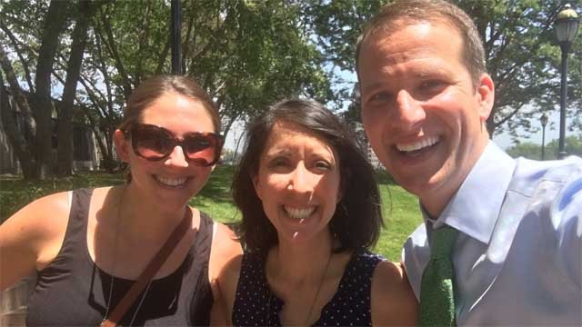 Mark Zinni joined Sara Bronin and Natasha Roggi for Potter on the Plaza (WFSB)