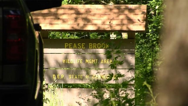 "Police are investigating ""suspicious incident"" at the Pease Brook Wildlife Management Area on Thursday. (WFSB)"