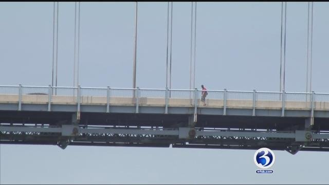 The Arrigoni Bridge is getting new safety measures. (WFSB)