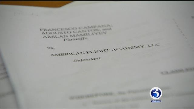 A second lawsuit was filed against American Flight Academy. (WFSB)
