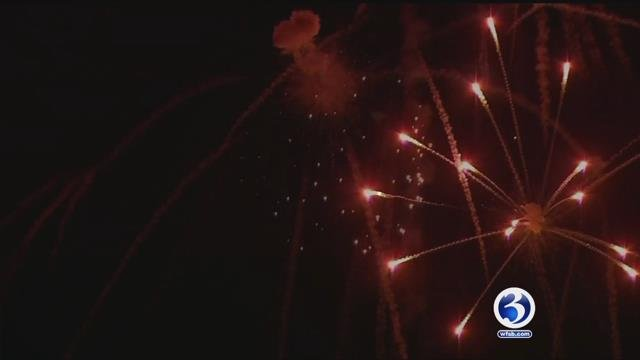Fireworks likely to continue in Meriden. (WFSB file)