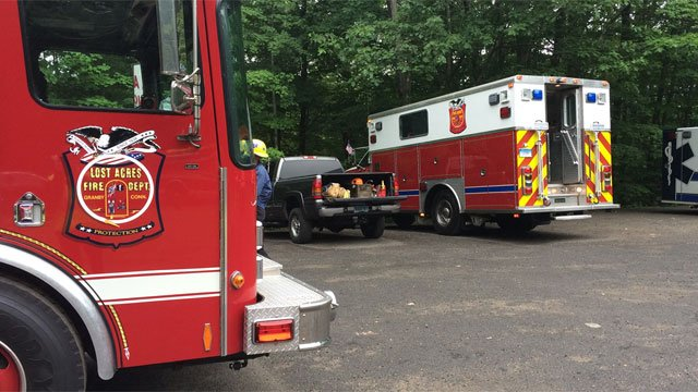 A person fell at Ender's State Park on Friday. (WFSB)