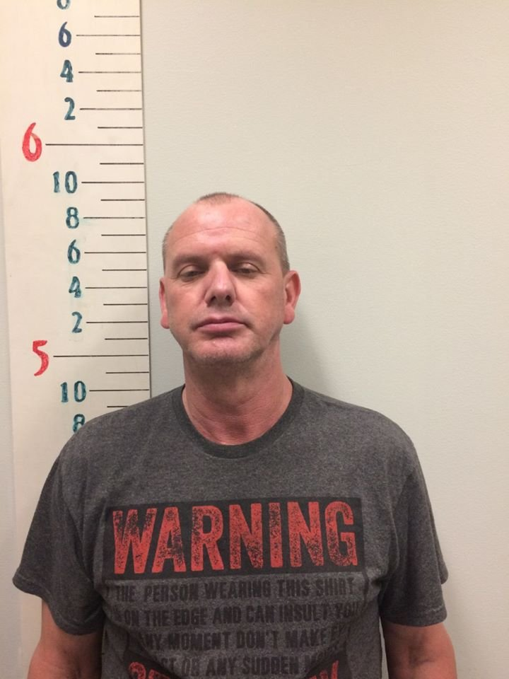 Thomaston police arrested a man for pouring gasoline in his house in an attempt to set it alight following an argument.  (Thomaston PD)