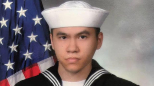 Sonar Technician 3rd Class Ngoc T Truong Huynh, 25, from Oakville, Connecticut was one of seven sailors in the collision of the USS Fitzgerald. (Courtesy of Lan Thi Huynh)