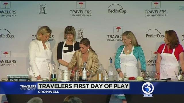 Thursday is Women's Day at the Travelers Championship