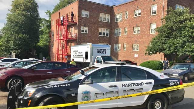 A man was shot and killed in Hartford on Thursday (WFSB)