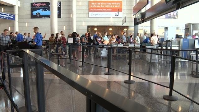 TSA officials provided information on summer travel safety tips (WFSB)