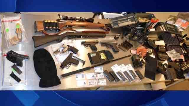 Weapons were seized by Duxbury police (Duxbury Police)