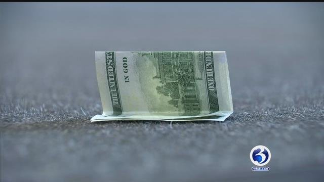 A good samaritan returned a $100 bill that she found on the ground at a AAA office in West Hartford (WFSB)
