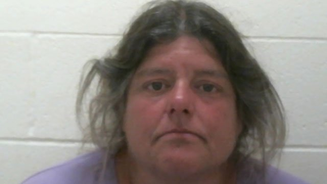 Andrea Tiffany was arrested after police said several marijuana plants were seized from her Clinton home on June 27. (Clinton Police Department)
