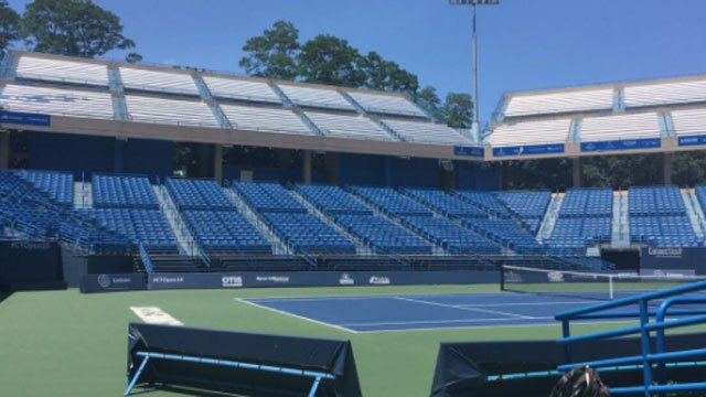 The Connecticut Open returns to New Haven in August. (WFSB)